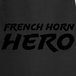 French horn hero T-shirts - Forklæde