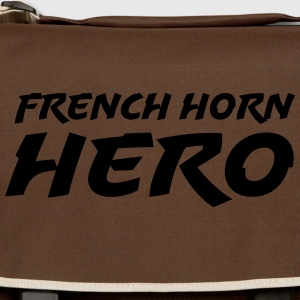 French horn hero T-shirts - Skuldertaske