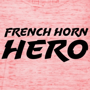 French horn hero T-shirts - Tanktopp dam från Bella