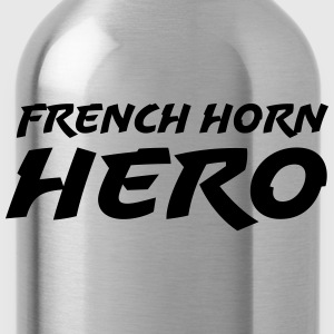 French horn hero Camisetas - Cantimplora