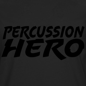 Percussion Hero - Premium langermet T-skjorte for menn