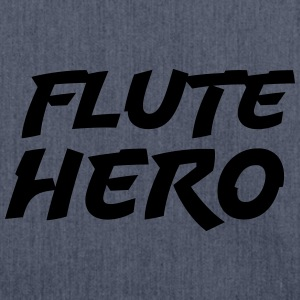 Flute Hero T-Shirts - Shoulder Bag made from recycled material