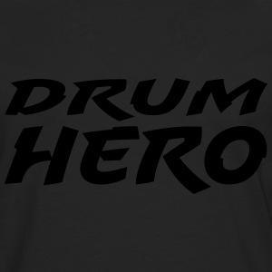 Drum Hero - Premium langermet T-skjorte for menn