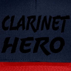 Clarinet Hero - Snapback-caps