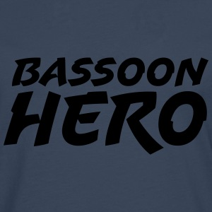 Bassoon Hero - Premium langermet T-skjorte for menn
