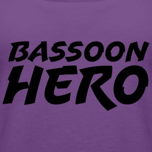 Bassoon Hero T-Shirts - Frauen Premium Tank Top