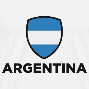 National Flag of Argentina Baby Bodysuits - Men's Premium T-Shirt