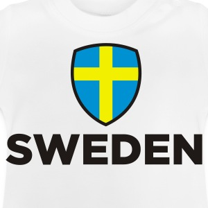 National flag of Sweden Long Sleeve Shirts - Baby T-Shirt
