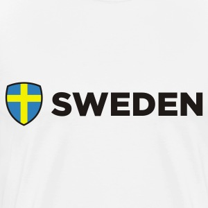 National flag of Sweden Polo Shirts - Men's Premium T-Shirt