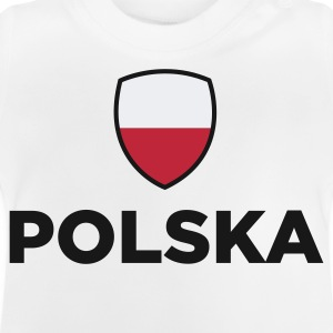 Nationell polsk flagg T-shirts - Baby-T-shirt
