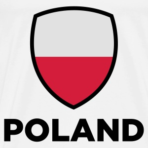National Flag of Poland Baby Bodysuits - Men's Premium T-Shirt