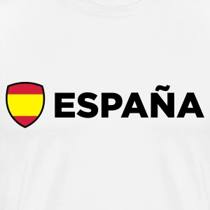National Flag of Spain Tröjor - Premium-T-shirt herr
