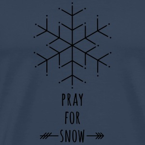 Pray for Snow Other - Men's Premium T-Shirt