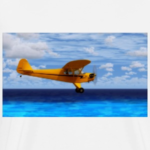 piper airplane mousepad - Männer Premium T-Shirt