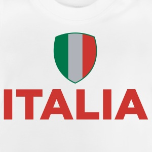 Nationella flagga Italien T-shirts - Baby-T-shirt
