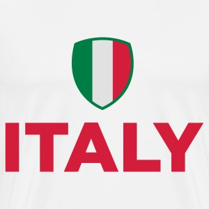 National flag of Italy Polo Shirts - Men's Premium T-Shirt