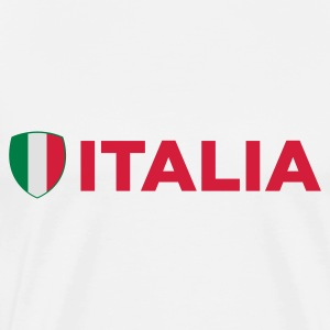 National flag of Italy Long Sleeve Shirts - Men's Premium T-Shirt