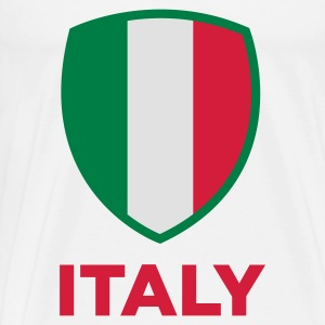 National flag of Italy Hoodies - Men's Premium T-Shirt