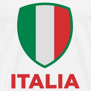 National flag of Italy Sports wear - Men's Premium T-Shirt