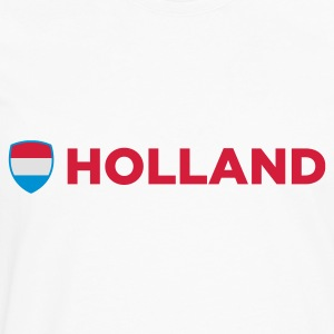 National Flag af Holland T-shirts - Herre premium T-shirt med lange ærmer