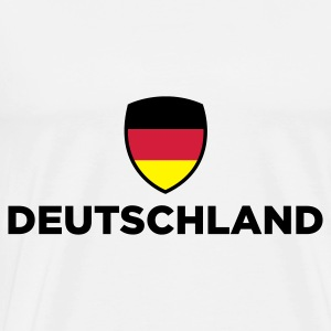 National flag of Germany Tops - Men's Premium T-Shirt