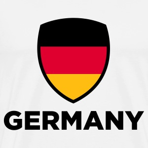 National flag of Germany Long Sleeve Shirts - Men's Premium T-Shirt