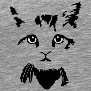 katje - cat, kitten - 2 colours Overig - Mannen Premium T-shirt