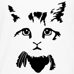 cat, kitten - 2 colours T-shirts - Långärmad premium-T-shirt herr