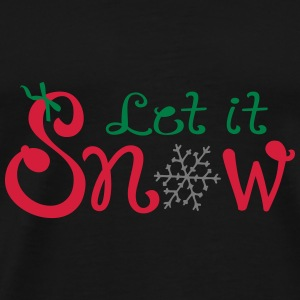 Let it snow Umbrella  - Men's Premium T-Shirt