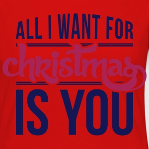 All I want for christmas is you T-shirts - Långärmad premium-T-shirt dam