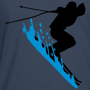 ski, neige - skiing, skier Sweat-shirts - T-shirt manches longues Premium Homme