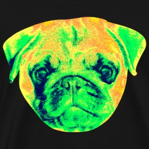 pug Mugs & Drinkware - Men's Premium T-Shirt