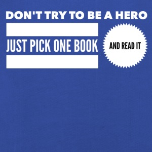 Pick one book and read it Tee shirts - Pull à capuche Premium Enfant