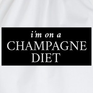 I'm on a champagne diet T-Shirts - Drawstring Bag