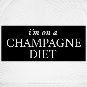 I'm on a champagne diet T-Shirts - Baseball Cap