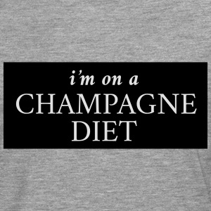 I'm on a champagne diet T-Shirts - Men's Premium Longsleeve Shirt