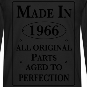 made in 1966 II birthday T-Shirts - Männer Premium Langarmshirt