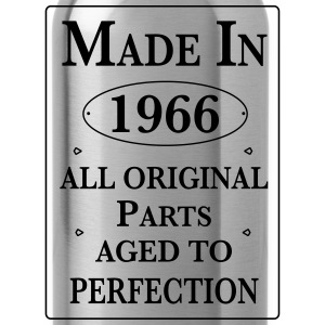 made in 1966 II birthday Pullover & Hoodies - Trinkflasche