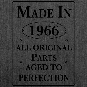 made in 1966 II birthday Pullover & Hoodies - Schultertasche aus Recycling-Material