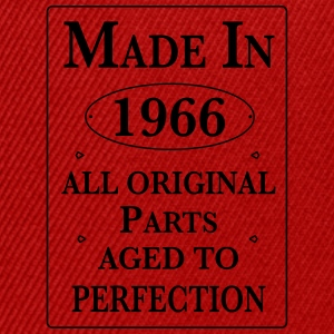 made in 1966 II birthday T-Shirts - Snapback Cap