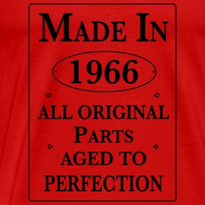 made in 1966 II birthday Langarmshirts - Männer Premium T-Shirt