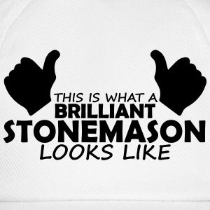 brilliant stonemason T-Shirts - Baseball Cap