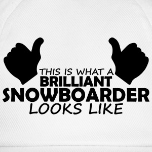 brilliant snowboarder T-Shirts - Baseball Cap