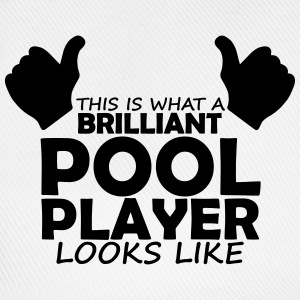brilliant pool player T-Shirts - Baseball Cap