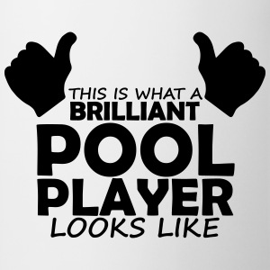 brilliant pool player T-Shirts - Mug