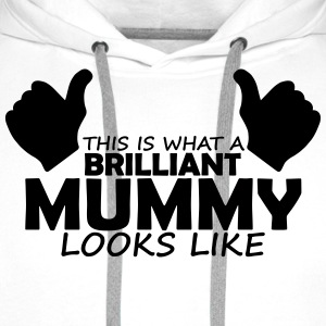 brilliant mummy T-Shirts - Men's Premium Hoodie