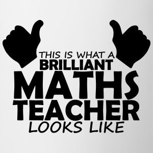 brilliant maths teacher T-Shirts - Mug