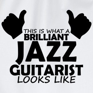 brilliant jazz guitarist T-Shirts - Drawstring Bag