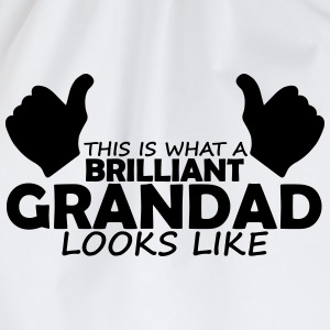 brilliant grandad T-Shirts - Drawstring Bag