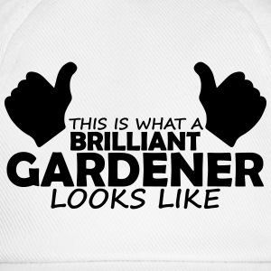 brilliant gardener T-Shirts - Baseball Cap